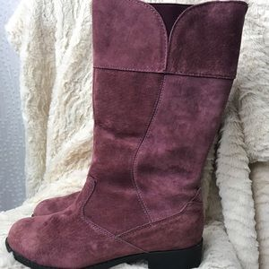 Pink  Suede Propet women's Boots Size 6.5